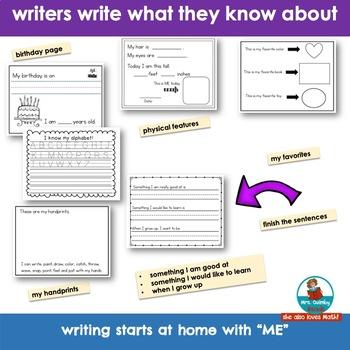 I Am ME  - Booklet- Character Education-Self-Esteem [Grades PreK-1]