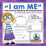 Writing Booklet for Primary Writers   I am ME   Getting to