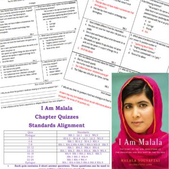 I Am Malala Chapter Quizzes