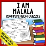 I Am Malala Young Readers Edition - Comprehension Questions