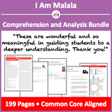 I Am Malala – Comprehension and Analysis Bundle