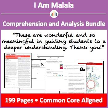 I Am Malala – Comprehension and Analysis Bundle