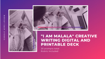 I Am Malala: Creative Writing Card Deck