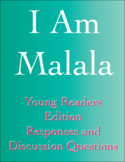 I Am Malala - Young Readers Edition - Interactive Notebook
