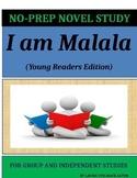 I Am Malala Novel Study Lesson Plans-Malala Yousafzai with Patricia McCormic