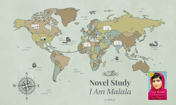 I Am Malala Novel Study Package
