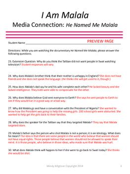 I Am Malala Study Unit- Updated 2/29/2016