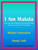 I Am Malala Study Unit- (Now Editable!)