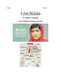 I Am Malala YA version Reading Packet