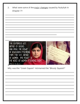 I Am Malala - Young Reader's Edition - Lesson 5