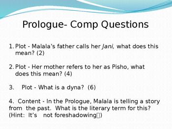 I Am Malala powerpoint