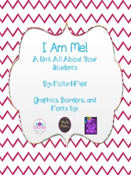 "I Am Me - Week Long ""All About Me"" Theme Pack"