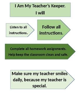 I Am My Teacher's Keeper