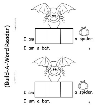 Halloween Spiders   Emergent Reader and Literacy Centers for Halloween Fun