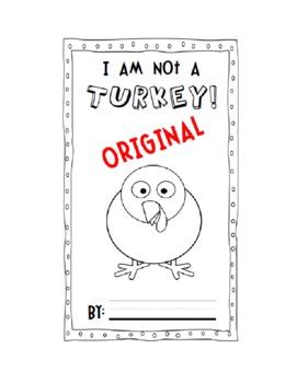 """I Am Not A Turkey"" Book - Creative Writing"