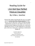 I Am Not Your Perfect Mexican Daughter - Complete Reading Guide