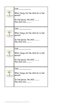 I Am Peace by Susan Verde and Peter Reynolds Plan and Activities