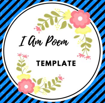 I Am Poem Template