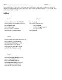 I Am Poem - The Merchant of Venice
