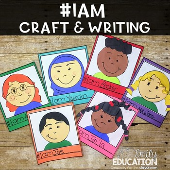 I Am Poem Writing and Craft Celebrating Diversity