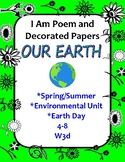 Spring, Earth Day or Environmental Unit Cross-Curricular I