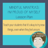 I Am Proud of Myself Lesson Plan