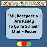 I Am Ready for School PicList