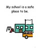 I Am Safe At School Social Story