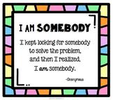 I Am Somebody: Problem poster