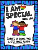 I Am Special! Guess Who... Beginning of the School Year Bulletin Board Activity