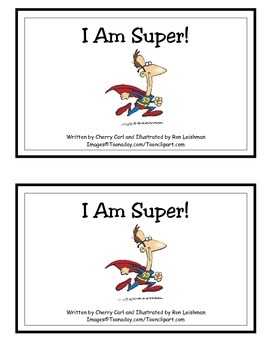 I Am Super! Guided Reader (-am and -ee Word Families