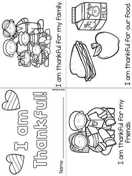 I Am Thankful Activities for Preschool, Pre-K, and Kindergarten