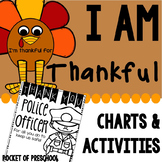 I Am Thankful Activities for Preschool, Pre-K, and Kindergarten