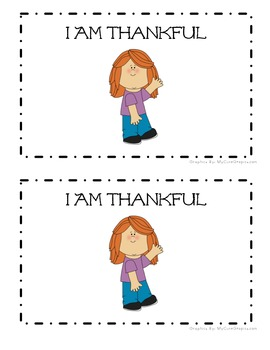 I Am Thankful: An Emergent Reader (Sight Word Focus: I, am, for)