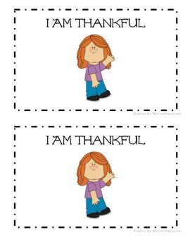 I Am Thankful: An Emergent Reader (Sight Word Focus: I, am, for)