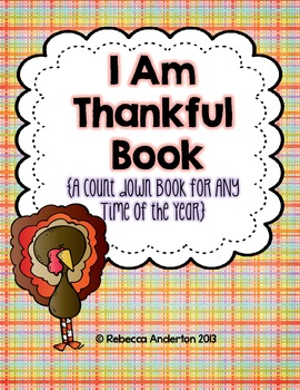 I Am Thankful Book {A Top 10 Countdown Book for Any Time Year}