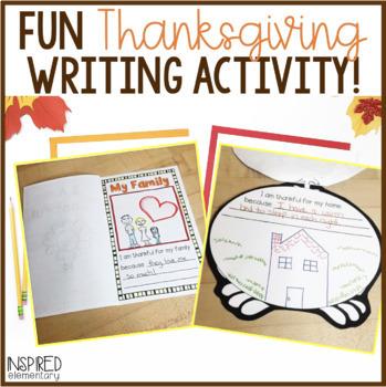 I Am Thankful Books (Three Templates Included!)