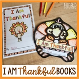 I Am Thankful Books (Three Templates Included!)