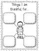 """I Am Thankful"" Emergent Reader FREEBIE"