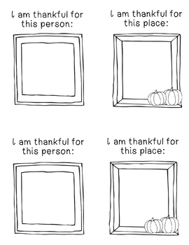 I Am Thankful For... book