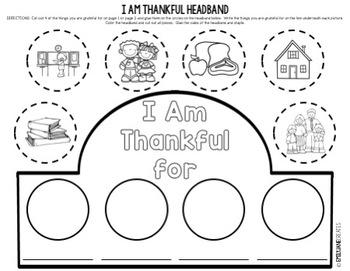I Am Thankful-Thanksgiving Headband