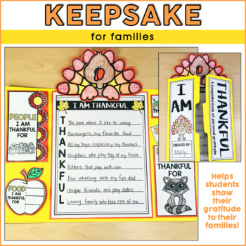 Thankful Lapbook | Thanksgiving Activities