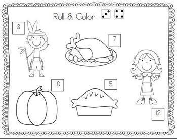 I Am Thankful!  Thanksgiving Literacy and Math Activities For Kindergarten