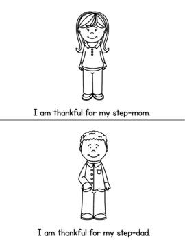 I Am Thankful - Thanksgiving Emergent Reader
