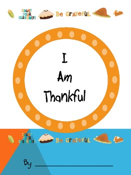 Thanksgiving Writing, I Am Thankful Writing
