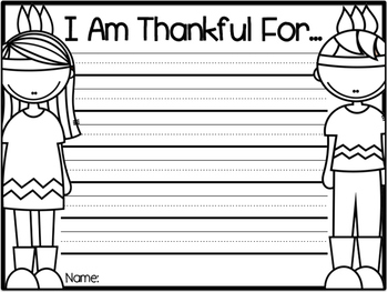 I  Am Thankful for Writing