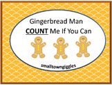 Gingerbread Activities, Gingerbread Math,Special Education and Autism Resources