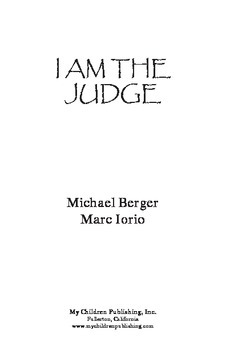 I Am The Judge