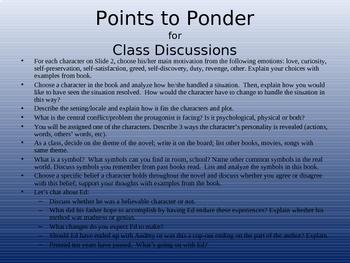 Literature PowerPoint - I Am The Messenger