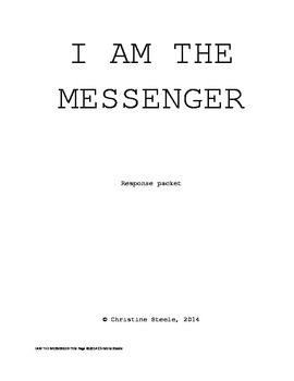 I Am The Messenger Response Packet